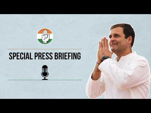 LIVE: Special Press Conference by Shri Rahul Gandhi at AICC HQ