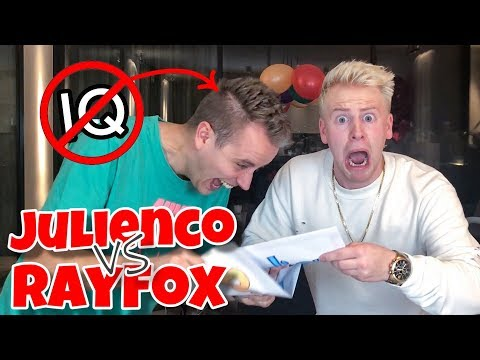 2 DUMME JUNGS machen IDIOTENTEST ! 🤯 Julienco vs RayFox II RayFox