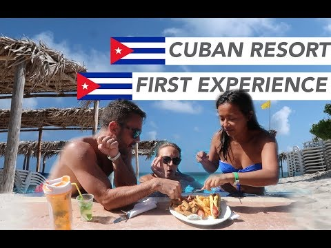 All Inclusive CUBAN RESORT 🌴 First Cuba Vacation : is the food good or bad?