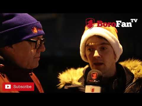 A CHRISTMAS PRESENT FROM STEVE GIBSON - Millwall 2 Middlesbrough 1 - BoroFanTV