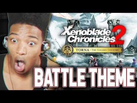 """ETIKA REACTS TO """"XENOBLADE CHRONICLES 2 - TORNA"""" ( INTRO & BATTLE THEME )"""