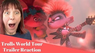 TROLLS WORLD TOUR Trailer Reaction!