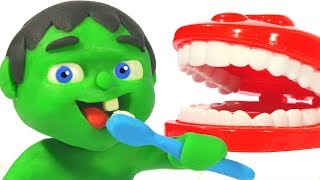 Kids Learn How To Wash Their Teeth ❤ Cartoons For Kids