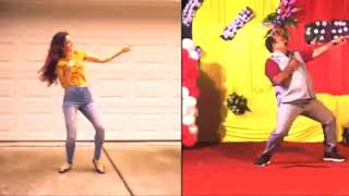Dabbu Uncle New Dance Vs US Girl Dancer | Sanjeev Srivastava Dance Funny