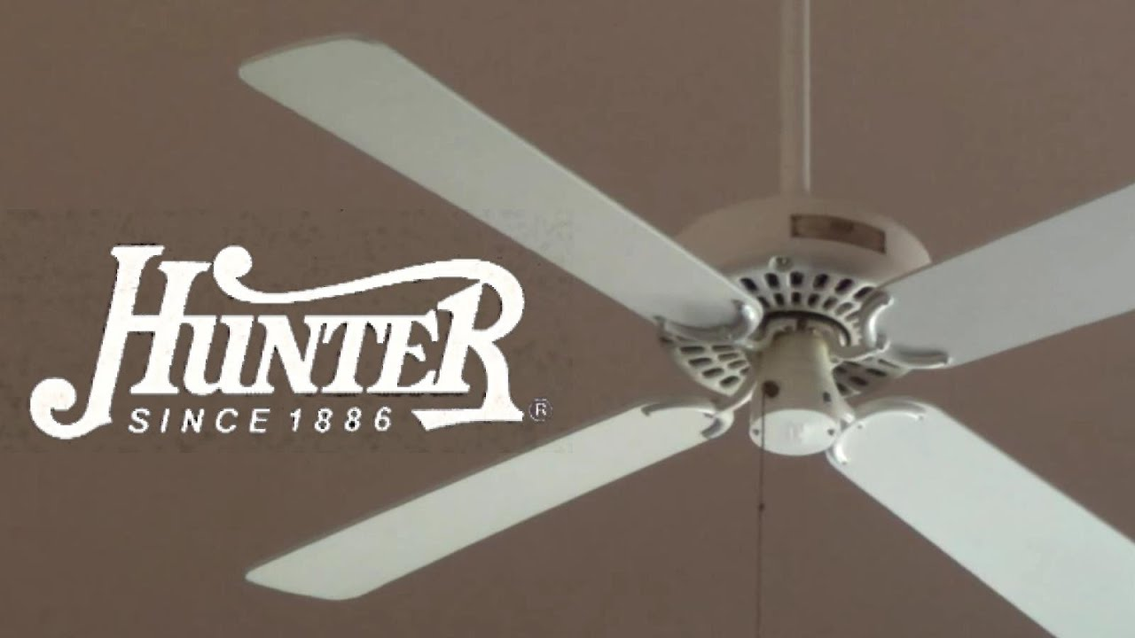 Hunter 48 Original Ceiling Fan 1080p60 Remake