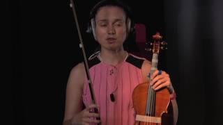 Серия 010   Kак играть на струне ля в ритме?