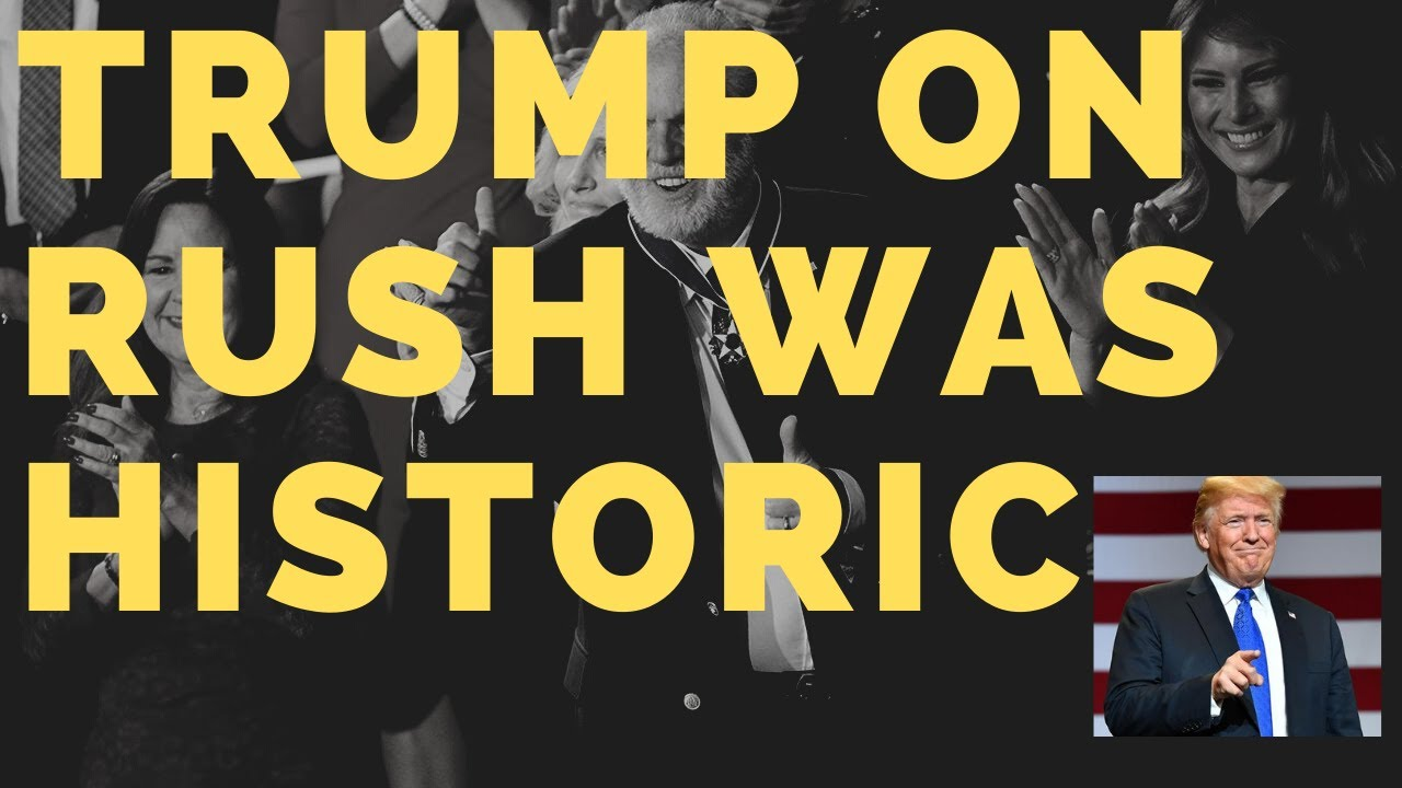 President Trump on the Rush Limbaugh Show Was Amazing! | Podcast Episode 1010