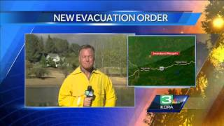 King Fire threatens several small El Dorado County towns