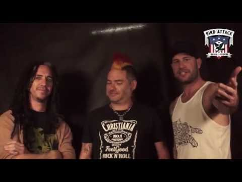 NOFX interview at Punk Rock Holiday 1.6. Bird Attack Records