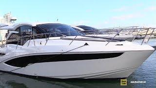 2019 Galeon 425 HTS Luxury Yacht - Deck and Interior Walkaround - 2019 Miami Yacht Show