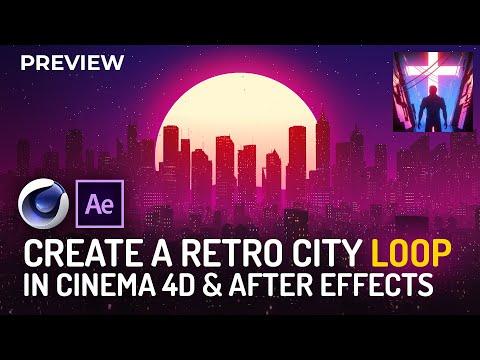 Skillshare Class Introduction - Retro City Loop