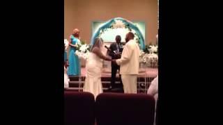 Bride Singing So High by John Legend Freeman Weddi