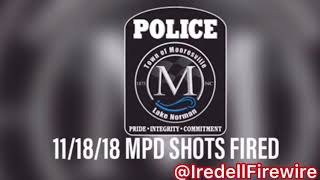 11/18/18 Mooresville Police Shots Fired Radio Traffic Audio Mooresville Fire / Rescue Station 3
