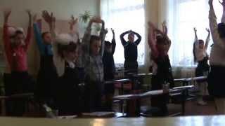 4 - Б клас, «Фізкультхвилинка  на уроці української мови»
