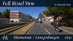 Hannover/Langenhagen, Germany: Vahrenwalder Straße, Walsroder Straße - 4K (UHD/2160p/60p) Video
