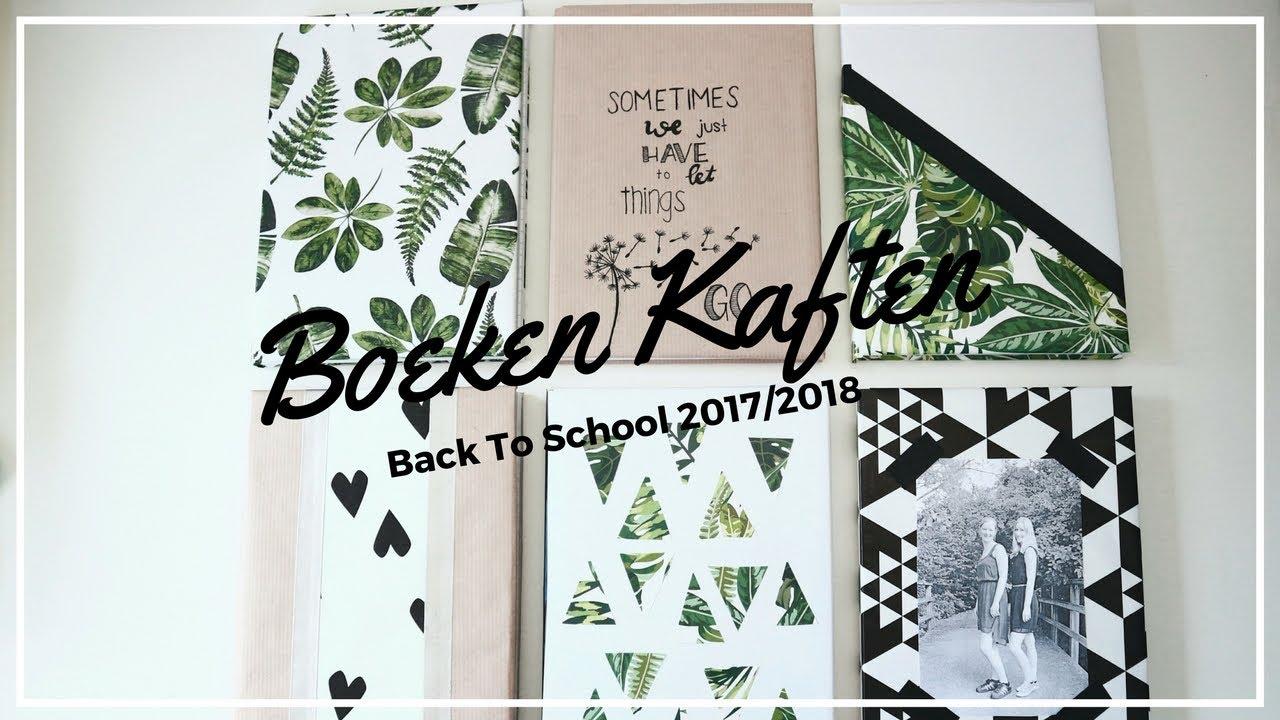 Populair ORIGINEEL BOEKEN KAFTEN // 6 designs // Back To School 2017-2018  @RI88