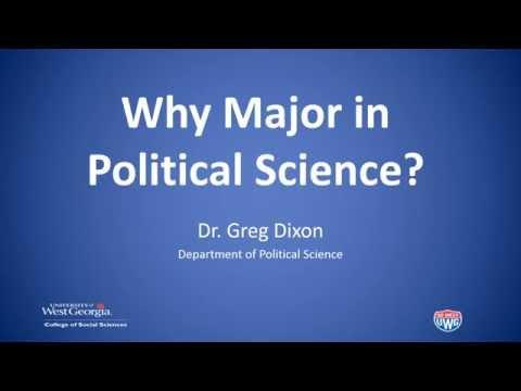 Why Major in Poli Sci?