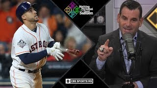 George Springer cost Astros Game 1 of World Series | Nothing Personal with David Samson