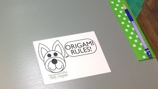 How I Record Origami Tutorials - Happypuppytruffles' Workspace