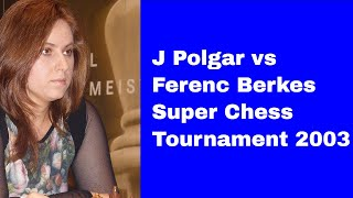 Fascinating attack by Judit Polgar: J Polgar vs Ferenc Berkes