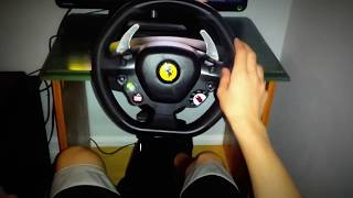 Thrustmaster 458 Italia racing wheel xbox 360