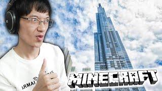 Tui xây tòa tháp CAO NHẤT Việt Nam trong Minecraft! (Tập 7)