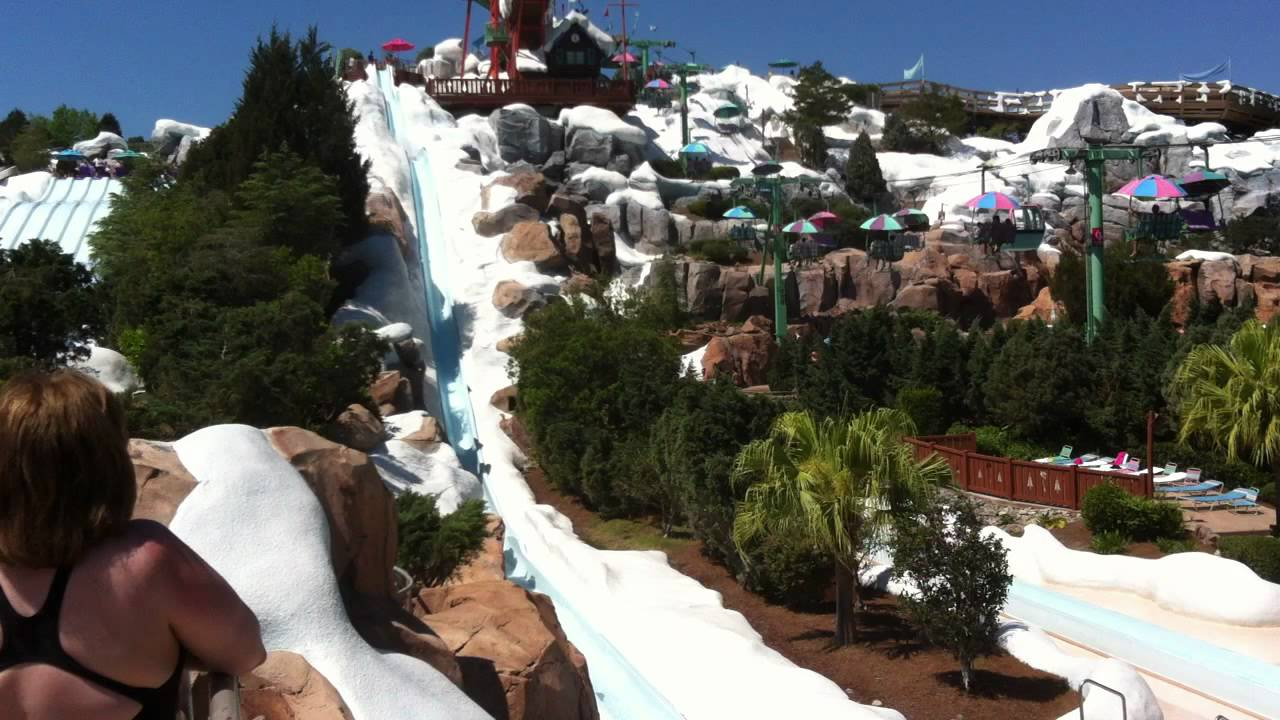 Blizzard Beach Water Park Disney World Tall Slides 7 Orlando Local Guide