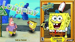 SpongeBob Employee of The Month [PC] - Longplay (100%) [4K]