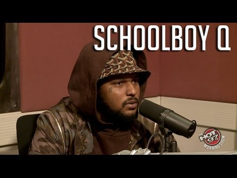 Schoolboy Q talks Gang Past, Groupies, Lean + His conversations with Kendrick Lamar!