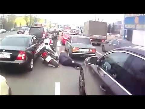 #28 國內外車禍 摩托車鑽車陣-交通事故-紀錄片-