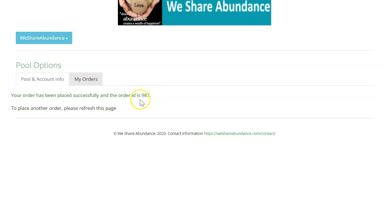 How To Stake A Pool In We Share Abundance And Make 50% Profit A  Month!