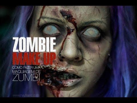 [Tutorial] Maquiagem Zumbi / Zombie Make up