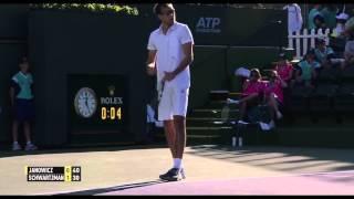 Jerzy Janowicz vs Diego Schwartzman Indian Wells 14.03.2015 HD