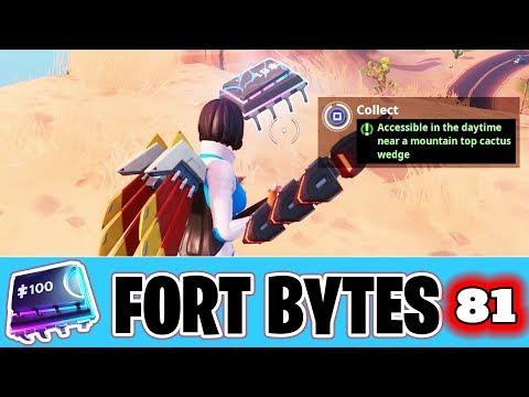 Fortnite Fortbyte #81 Location