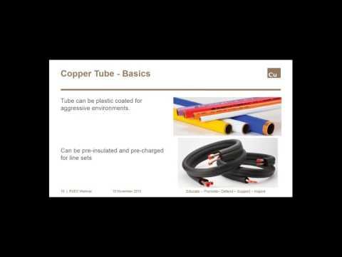 Applications: Tube, Pipe & Fittings: HVAC/R
