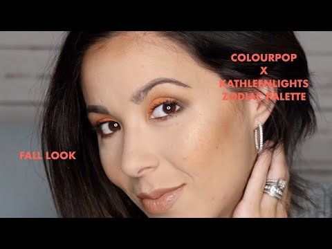 FALL MAKEUP LOOK FEATURING COLOURPOPXKATHLEENLIGHTS ZODIAC COLLECTION - REBECCA LEE  -  BOYMOMBEAUTY