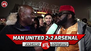 Man United 2-2 Arsenal | Mourinho Sent Them Out To Play Rugby & Butcher Us!! (Kelechi)