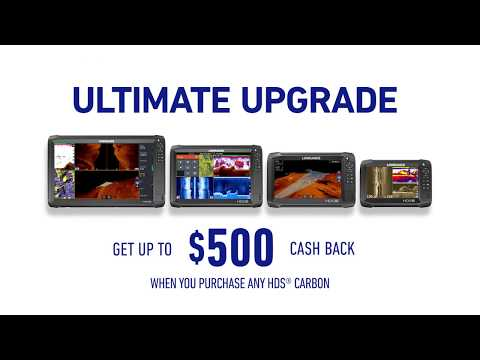 Get up to $500 during the Lowrance Ultimate Upgrade