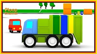 Cartoon Cars - TRASH RECYCLE Truck! - Cartoons for Children - Childrens Animation Videos for kids