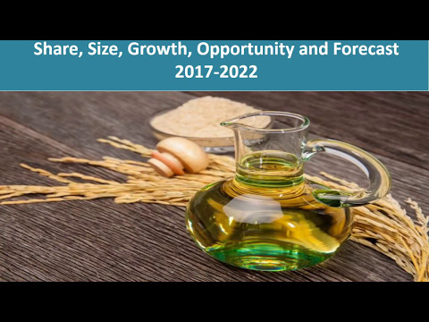 Rice Bran Oil Market Analysis, Size, Share | Industry Report 2017-2022