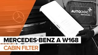 Replacing Spotlight Bulb on MERCEDES-BENZ A-CLASS: workshop manual