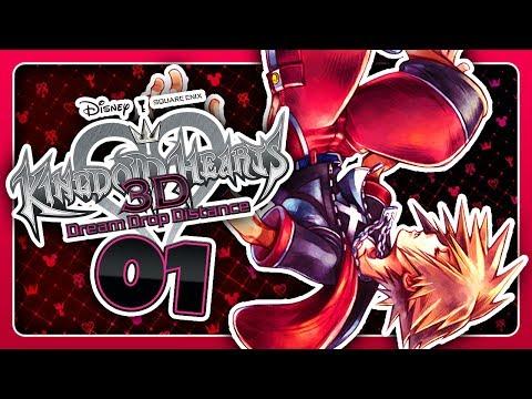 DIE WELT IM TRAUM! 🔑 #01 • Let's Play Kingdom Hearts: Dream Drop Distance