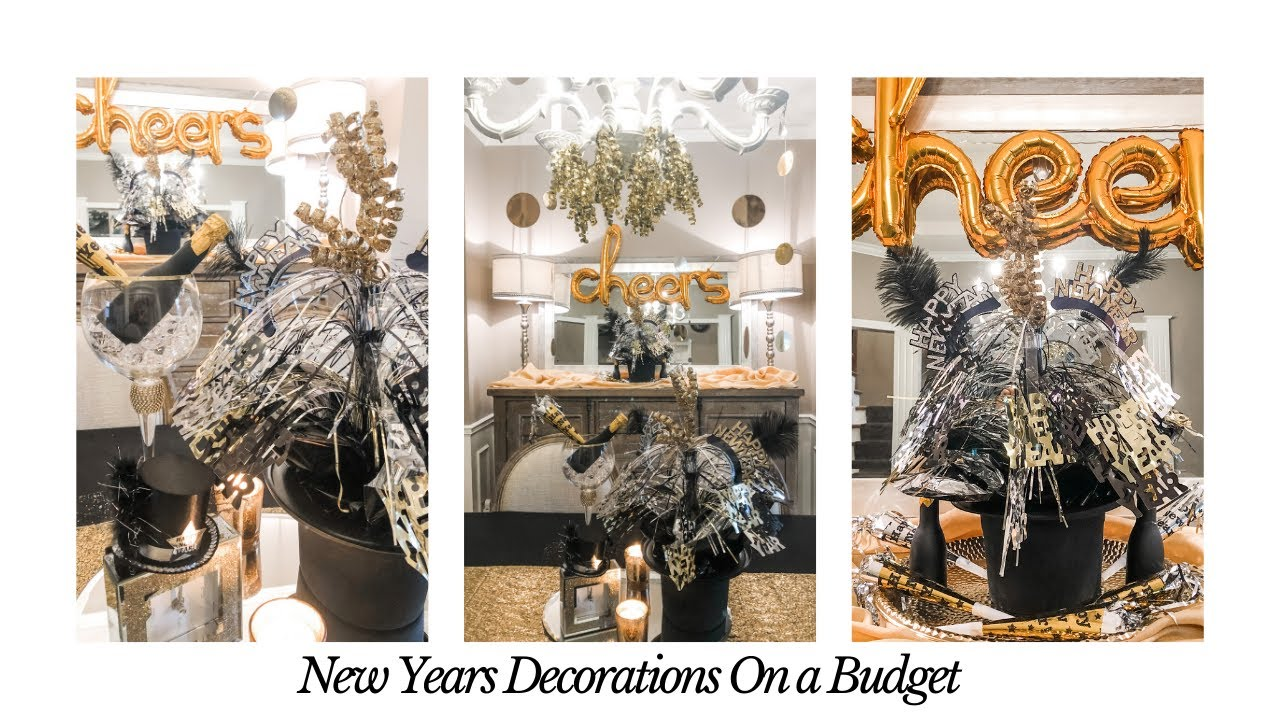NEW YEARS EVE DECORATIONS IDEAS ON A BUDGET   WALMART ...