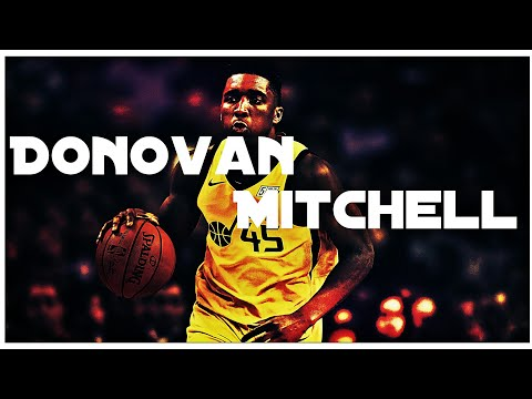 "Donovan Mitchell ""NBA MIX"" - Japan"
