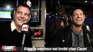 Edge le catcheur est invité chez Cauet - C'Cauet sur NRJ