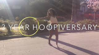 My Hooping Journey - 1 Month To 3 Year Hula Hoop Progress