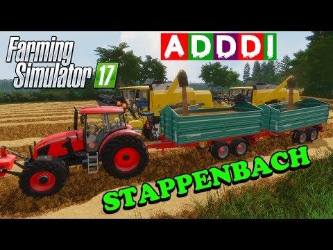 Farming Simulator 17 | Adddi's home hosted server | Stappenbach | Episode 1 | Timelapse thumbnail