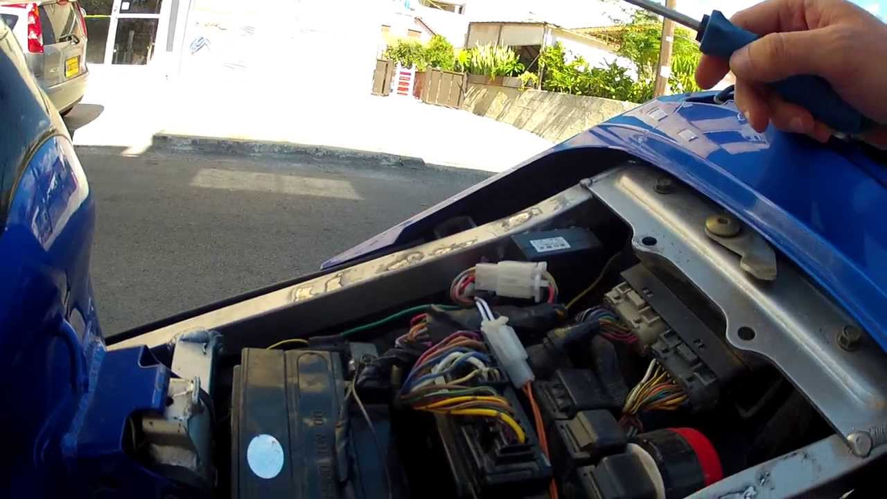 How To Remove Battery From Zx R Kawasaki