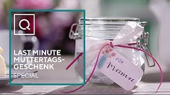 Last Minute Muttertagsgeschenk: Das Komplimenteglas | Tipps &Tricks | QVC