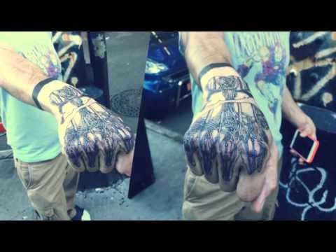 70f26c3784f0d Tattoo Wonderland - Anakin Skywalker Robotic Hand Tattoo Lined - YouTube